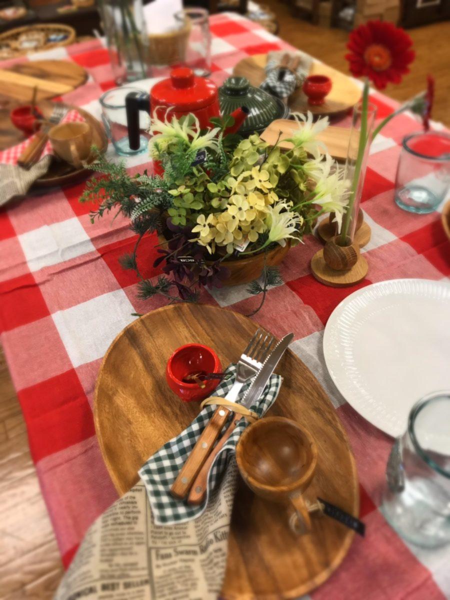 4月のテーブルコーディネート