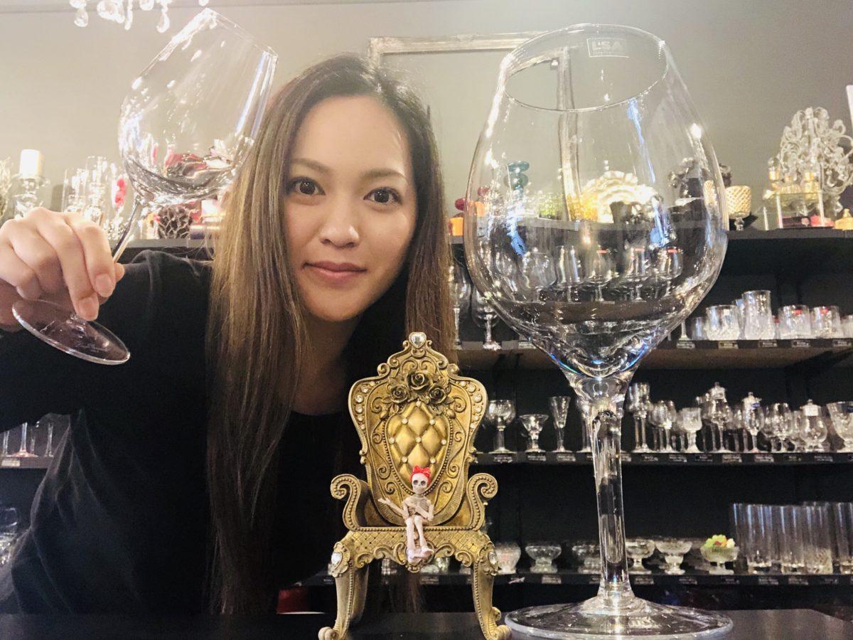Bigワイングラス!!